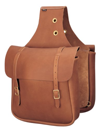 Horse Saddlebags Leather (Weaver Leather Chap Leather Saddle Bag)