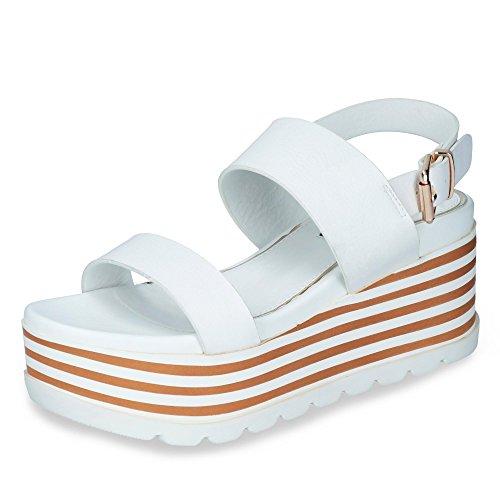Donne Donne Le Sandali Modello Bianco Per Sugar Mtng Infradito E Marca Colore Bianco wxSqqXvIn