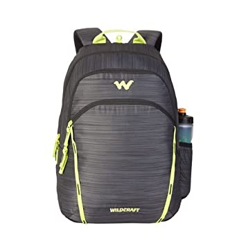 d80bb3370e Wildcraft 35 Ltrs Black Casual Backpack (11618-Black)  Amazon.in  Bags