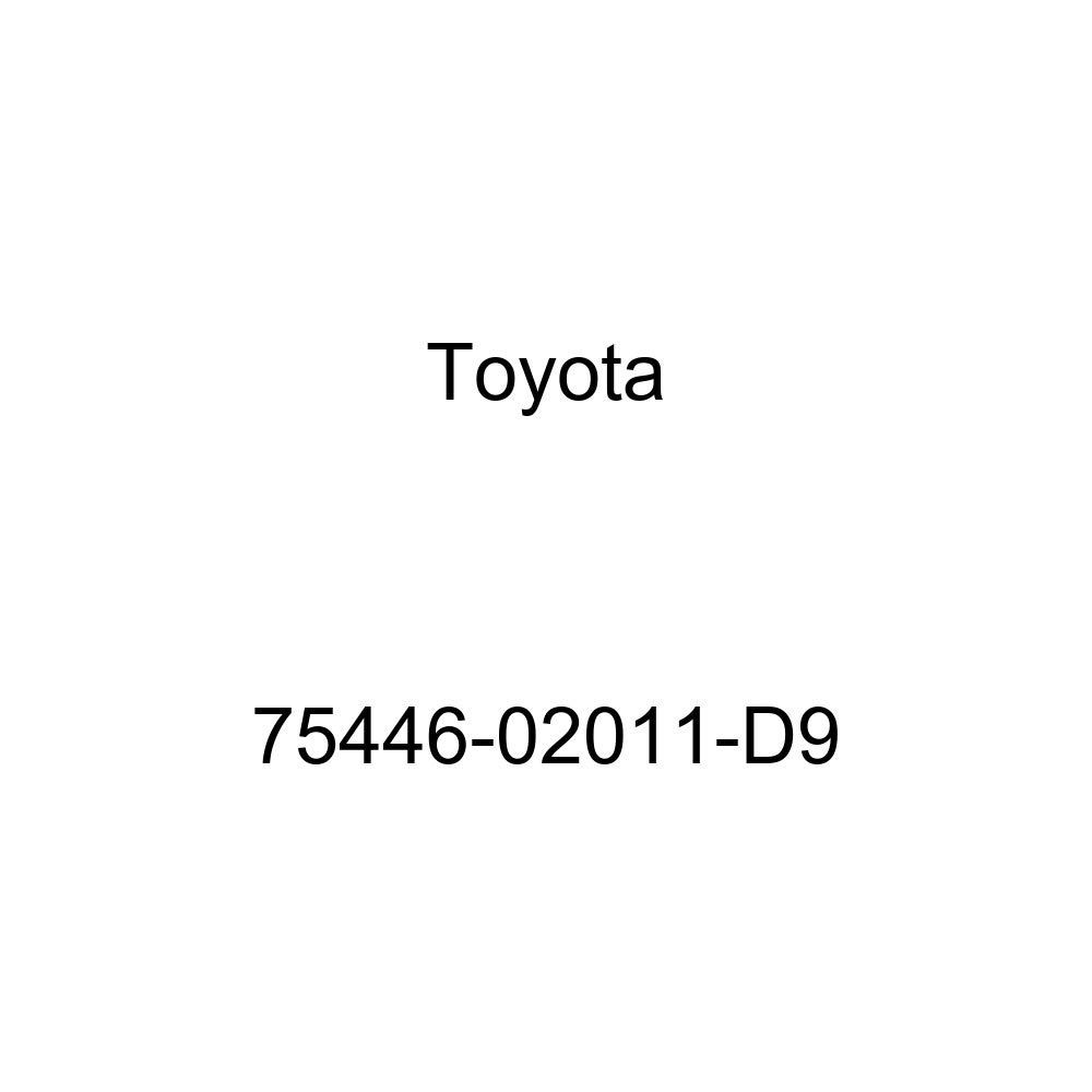 TOYOTA 75446-02011-D9 Name Plate