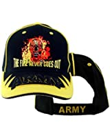 US Army 'The Fire Never Goes Out' Ball Cap