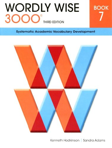 Wordly Wise 3000® 3rd Edition Student Book 7