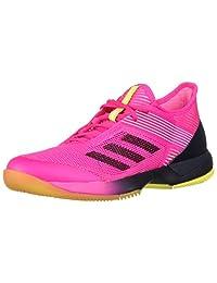 Adidas Ubersonic 3 Womens Tennis Shoe (Black/Pink)