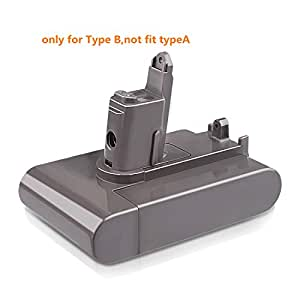 TREE.NB Replacement Battery for Dyson DC31 DC35 Type B,DC31 DC34 DC45 DC44 DC35 Animal DC35 Exclusive (only for Type B, not fit for Type A)