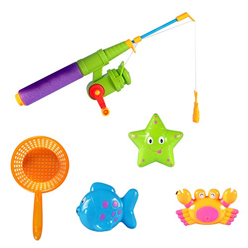 Magnetic Fishing Game Pretend Play Bath Toy Set