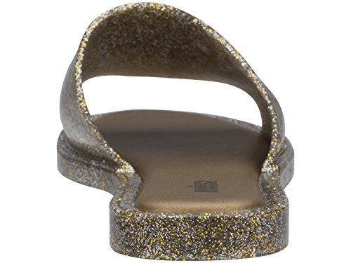 para 3771 Abierta Gold Punta con Dorado Mujer Soul Glitter Melissa Sandalias qwXABZw