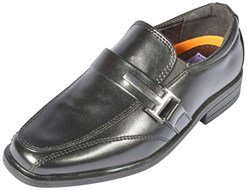 Pictures of Jodano Collection Boys Memory Foam Slip On 1
