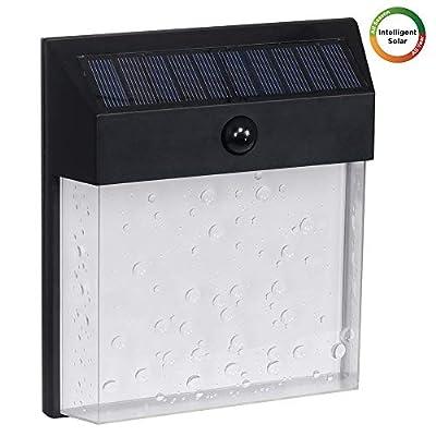 Westinghouse Intelligent Solar Motion Sensor Lights Outdoor, Premium 60 LED 1200 Lumens, Trendy Bubble Shade, Wireless Security Light for Garden,Patio,Yard,Driveway,Garage,Porch,Pathway