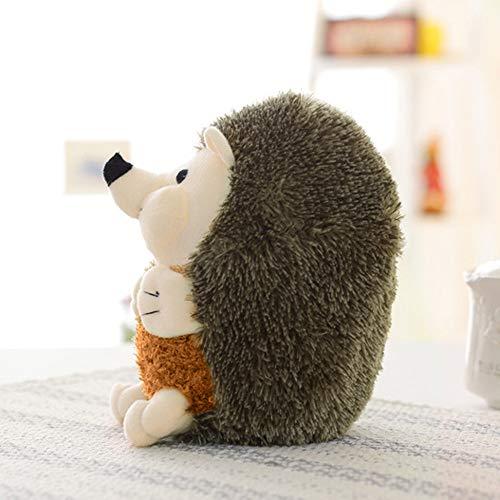 Hot Sale!DEESEE(TM)Hedgehog Toys Plush Toy Squeaky Hedgehog Squeaker Sound Cat Puppy (Bronze)]()