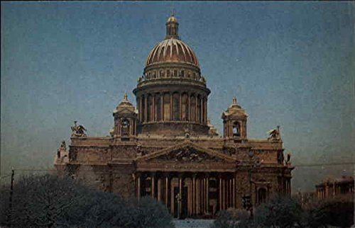 View of Domed Building Russia Original Vintage Postcard