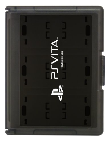Card Case 12 for PlayStation Vita (Black) [Japan Import] by Hori