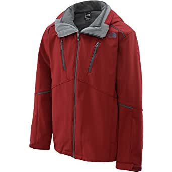 The North Face Men's Storm Peak Triclimate Jacket Biking Red 2XL