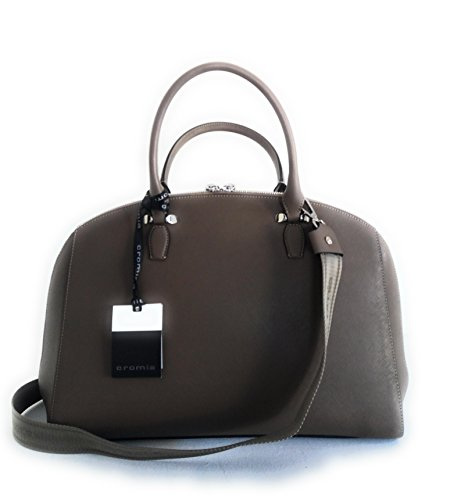 Cromia 1403393 perla business borsa da lavoro donna in pelle saffiano verde oliva con tracolla mis. Lungh.38xAlt.28xProf. 14 cm. Altezza compreso manici 41,5 cm.