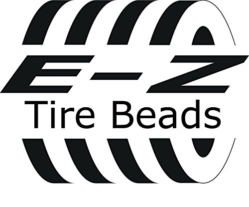 E-Z Tire Balance Beads Deluxe Kit Dually Truck 6 oz Six-Pack (6 bags of 6 oz Balancing Beads) 36 Ounces Total, Applicator Kit, Filtered Valve Cores, Red Caps by E-Z Tire Beads (Image #1)