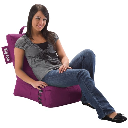 Color Chili Pepper Red Comfort Research Big Joe Bean Bag Dorm Chair Video Lounger Pink Passion
