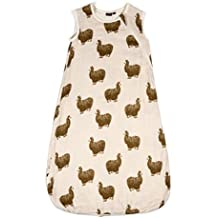 "Milkbarn Bamboo Cotton Plush Sleep Bag ""Pink Alpaca"" 0-6 months"