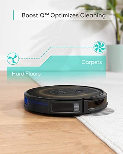 eufy by means of Anker, RoboVac G30 Edge, Robot Vacuum with Smart Dynamic Navigation 2.0, 2000Pa Suction, Wi-Fi, Boundary Strips, for Carpets and Hard Floors.