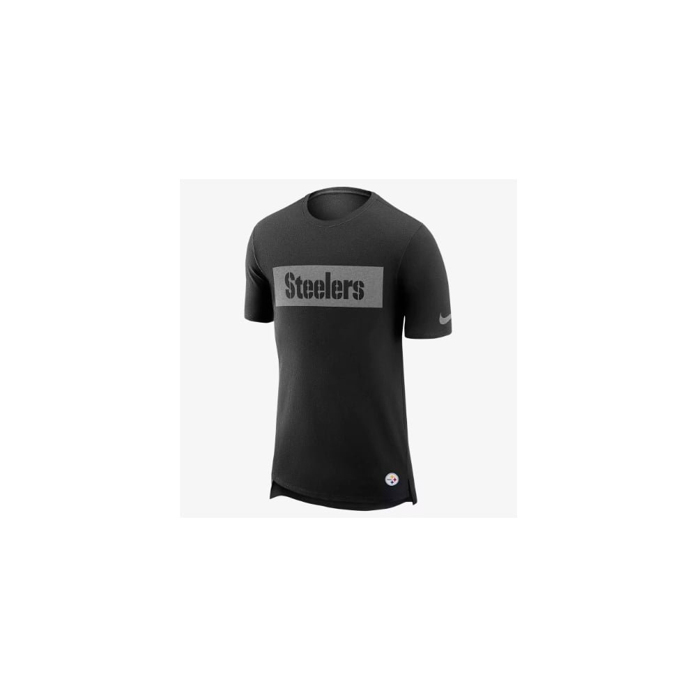 a6976b64427 Nike NFL Pittsburgh Steelers Enzyme Droptail Logo T-Shirt XX Large   Amazon.co.uk  Sports   Outdoors