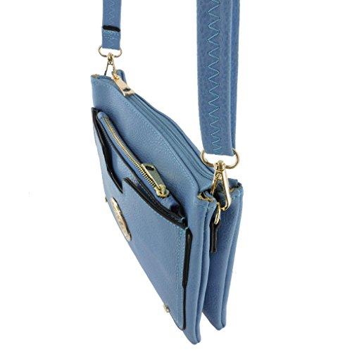 Femme Blue Pouch Fever® Silver Sf 9200 W IntxYq