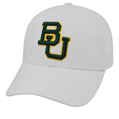 A-Big 12 Conference-Premium Collection-OneFit-Memory Fit- Size: L/XL-Baylor Bears-White ()