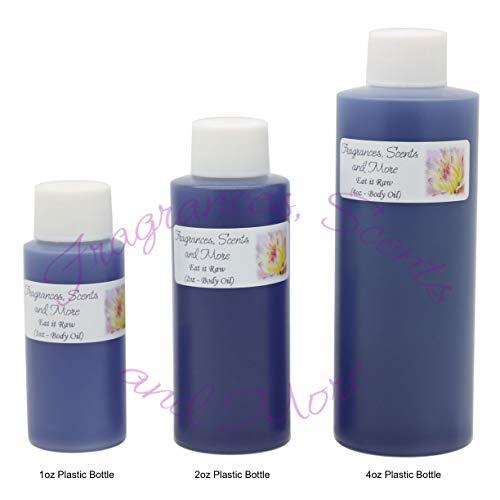 Eat it Raw Perfume/Body Oil (7 Sizes) - Free Shipping (4oz Plastic Bottle (120ml))