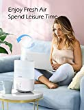 Homasy Cool Mist Humidifier Diffuser, 2.5L