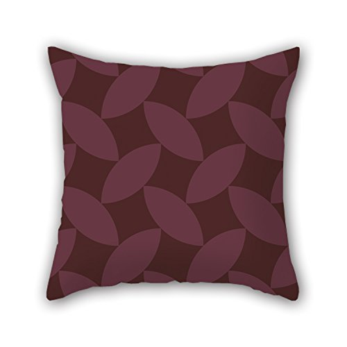 Artistdecor 16 X 16 Inches / 40 By 40 Cm Geometry Christmas Pillow Covers Both Sides Ornament And Gift To Gf Monther Kids Couch Dining Room Coffee House (Holiday Ornament Bicycle)