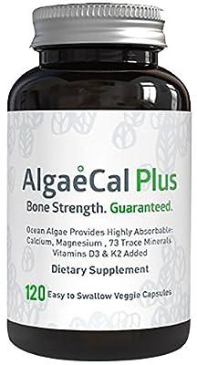 AlgaeCal Plus - Natural Calcium and Magnesium Supplement