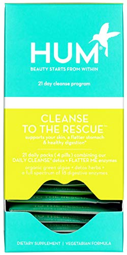 HUM Cleanse to the Rescue - 21 Day Beauty Detox Program (21 Packets)
