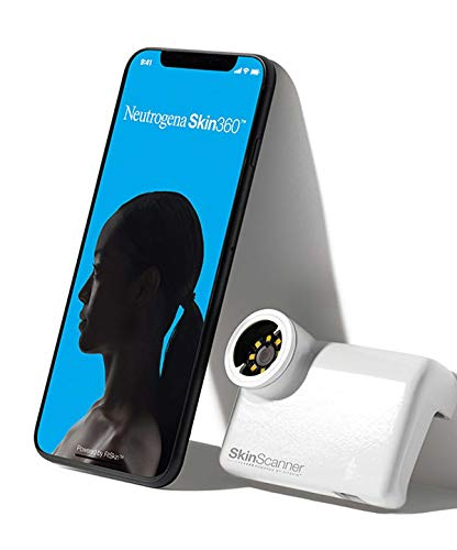 (New Neutrogena Skin360 Skin Scanner! The Most Advance and Precise At-home Skin Analysis iPhone Attachment Device! Measures Pores, Fine Lines, Wrinkles & Moisture! (iPhone 7/8))