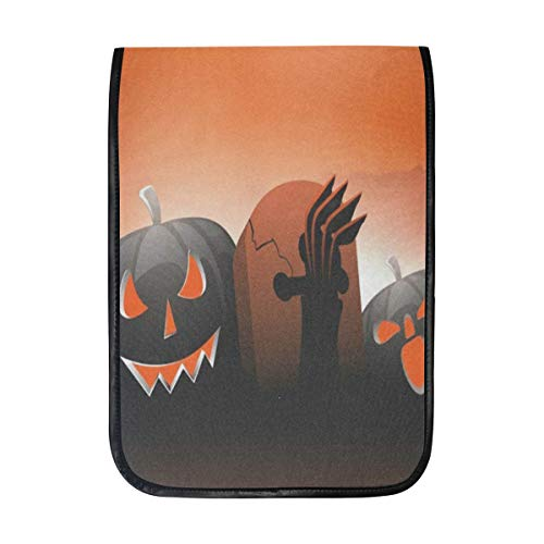 Ipad Pro 12-12.9 inch Sleeve Case Bag for Surface Pro Scary Pumpkins On Shiny Halloween Mac Protective Carrying Cover Handbag for 11