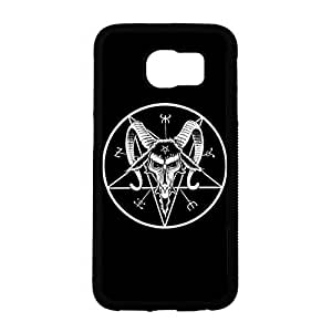 Samsung Galaxy S6 Phone Case, Pentagram and Pentacle Pattern Custom Durable Snap on Case for Samsung Galaxy S6