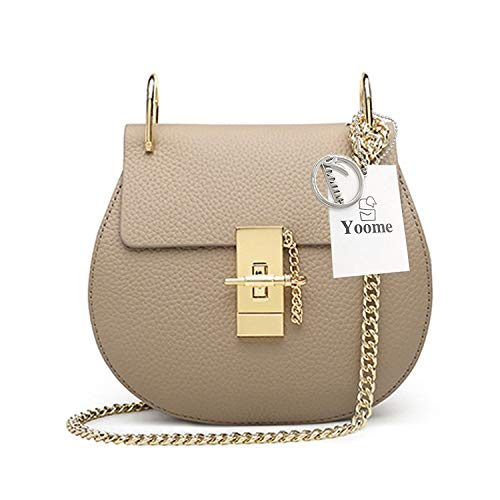 Clutch Yoome Beige For Bags Flap Girls Punk U Ring Style Bag Bag Bag Envelope Mini Chain Crossbody xwBqPfAx