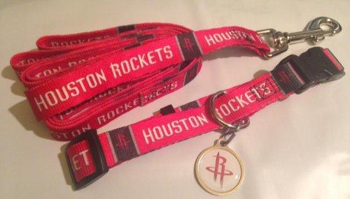 Hunter Houston Rockets Pet Combo Set (Collar, Lead, ID Tag), X-Small