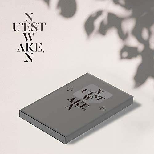 Pledis Entertainment NUEST W - Wake, N [3 ver.] KIHNO KIT+Photocards+Postcards+Extra Photocards Set ()