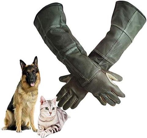AMAZACER 性保護手袋動物はM、猫、その他の小動物を取り扱い、お風呂、グルーミング用手袋の取り扱いかみます (Size : Small)