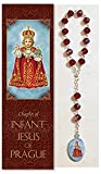 Infant Of Prague Chaplet 3pcs