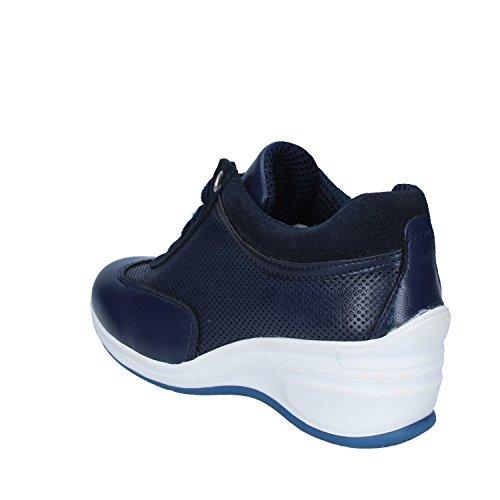 RUBINI OLGA Donna Sneakers Pelle Sintetica Camoscio Blu zqqdZwrEnC
