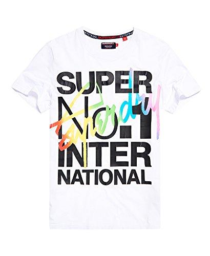 Superdry Men's Interlocked International T-shirt (Large,