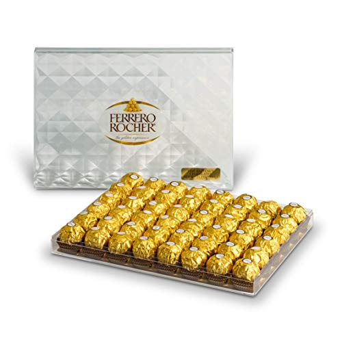 Ferrero Rocher Fine Hazelnut Chocolates, 21.1 Oz, 48 Count by Ferrero Rocher (Image #4)