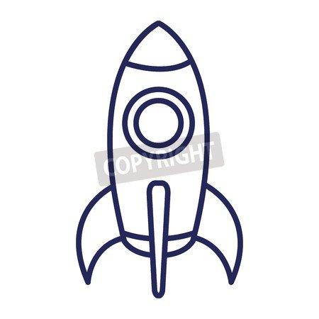 spacecraft Base Flat Icon Vector Ilustración Diseño Image ...