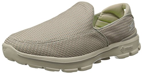 - Skechers Performance Men's Go Walk 3 Slip-On Walking Shoe, Stone, 12 M US