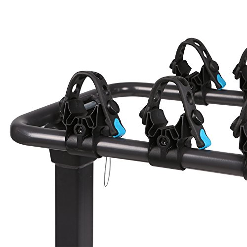 IKURAM 3-Bike Hitch Mount Bicycle Rack Foldable Fit 2 Inch Hitch Receiver by IKURAM (Image #8)
