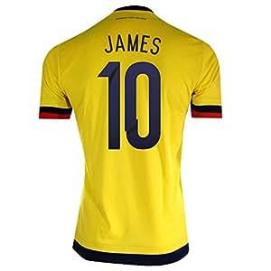 James #10 Camiseta 1ra Colombia De Fútbol Los Hombres 2015 (M)