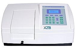 UV VIS Spectrophotometer with Scanning Software Ultraviolet Visible Spectrophotometer 190-1100nm Wavelength Range 2nm Bandwidth UV-5200
