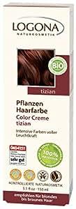 Logona - Tinte Vegetal en Crema Vino Tinto Logona, 150ml