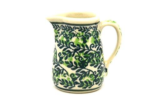 Polish Pottery Miniature Pitcher - Irish (Miniature Pottery Pitcher)