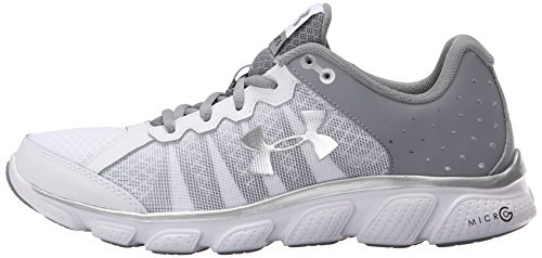 Armour White Femme Micro Assert G 6 Running Ua W Under Chaussures De aUwdPa