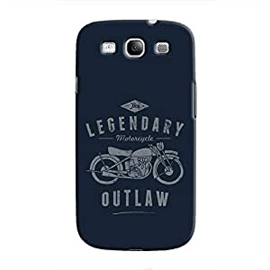 Cover It Up - Legendary Outlaw Galaxy S3 Hard Case