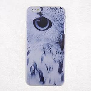 ZXSPACE Cartoon Eagle Eyes Pattern Back Case for iPhone 6 Plus